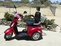 Electric Scooter in Yucca Valley, California