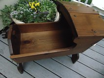 Adorable Sold Wood Vintage Doll Bed in Aurora, Illinois