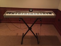 Like New Condition Casio Previa Keyboard and Stand in Glendale Heights, Illinois