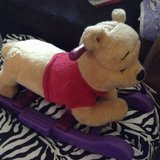 TALKING WINNIE THE POOH RIDING ROCKER in Vacaville, California