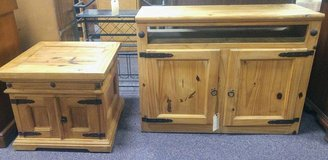Cabinet and End Table in Camp Lejeune, North Carolina