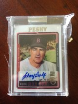 2005 Topps Autograph Johnny Pesky in Valdosta, Georgia
