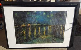 Van Gogh Poster - Framed (Stary Night) in Bartlett, Illinois