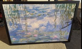 Monet Canvas Poster - Water Lillies (Framed) in Bartlett, Illinois