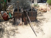 ===  Assorted Yard Art Tools  === in 29 Palms, California