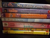 Various kids dvds in Morris, Illinois