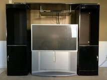 55 inch Sony T.V.  with Entertainment Center in Lake Elsinore, California