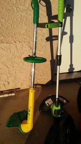 Weed Eater yellow one left in Yucca Valley, California