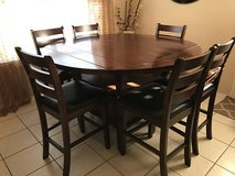 Counter Height (Pub Style) Dining Table w/Storage Base in San Antonio, Texas