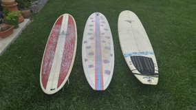 Surfboards in Camp Pendleton, California
