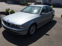 BMW 528 i - clean and new inspection in Hohenfels, Germany