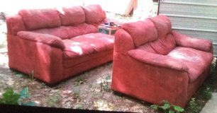Couch and love seat . in Fort Polk, Louisiana