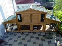 Rabbit hutch in Ramstein, Germany
