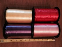 4 Extra Large Spools of Ribbon in St. Charles, Illinois