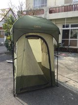Cabela's Shower/Changing Tent in Okinawa, Japan