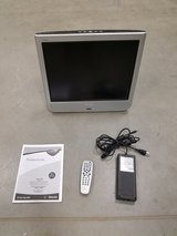 "19"" Phillips Flatscreen TV w/remote, powersource inistruction manual in Hinesville, Georgia"
