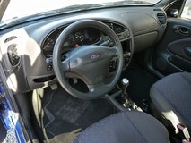 2002 Ford Fiesta Blue AC Great Gas Mileage Brandnew Inspection ! in Baumholder, GE