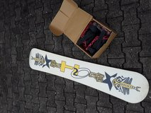 Snowboard H2O Dragon Fly with bindings. in Baumholder, GE