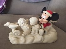 Mickey Mouse and Snowbabies in Philadelphia, Pennsylvania