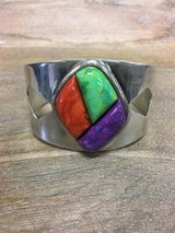 Sterling Silver Jay King Turquoise Cuff Bracelet in Camp Lejeune, North Carolina