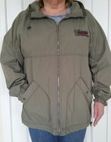 (2) LIGHTWEIGHT WATER-RESISTANT JACKETS w/HOODS in Schaumburg, Illinois