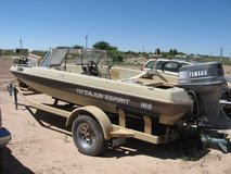 1986 cajun bass boat 16.5 foot 115 yamaha 1992 in Alamogordo, New Mexico