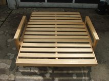 Wooden Futon Loveseat & Bed ~ Frame Only in Naperville, Illinois