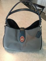 Coach (black check) purse in Yorkville, Illinois
