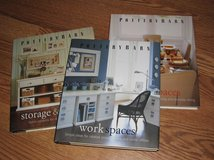 3 Pottery Barn - Hardcover Design Books - Large coffee table Size - Work Spaces - Dining & Storage in Clarksville, Tennessee