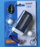 *NEW* Rainbow Bicycle Spoke LED Lights - Light up your bike like a unicorn! in Fort Campbell, Kentucky