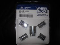 Three Wheel Locks Sets for Ford, Chevrolet, Hyundai (Sonata, Elantra) in Brookfield, Wisconsin