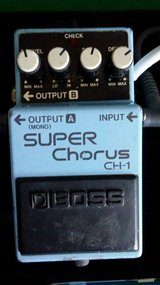 Boss CH1 chorus pedal in Fort Campbell, Kentucky