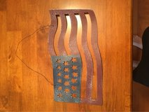Metal Flag wall decor in Fort Campbell, Kentucky