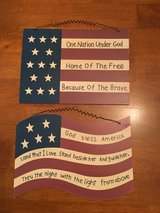 American Flag Wall Decor wood in Clarksville, Tennessee