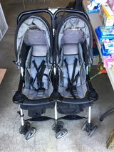 Combi Folding Double Stroller in Naperville, Illinois