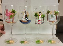 Wine glasses in Clarksville, Tennessee