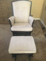 Glider rocker chair and ottoman in Vacaville, California