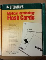 Medical terminology flash cards in Fort Campbell, Kentucky