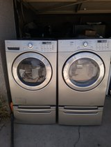 LG Tromm washer and dryer in Barstow, California