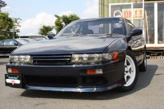 1992 NISSAN Silvia K's Turbo S13 (Navy Blue) - Inspection & Shipping Included in Okinawa, Japan