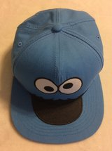 Cookie Monster Flat Bill Hat, Blue, OSFM in Fort Campbell, Kentucky
