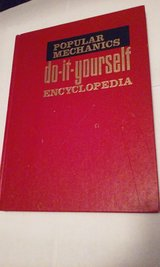 1968 Popular Mechanics Do It Yourself Encyclopedia vol 1 in Aurora, Illinois