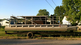 1974 Pontoon Boat in Clarksville, Tennessee