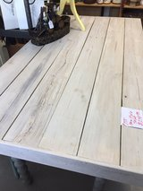 Wooden farm style table REDUCED in Byron, Georgia