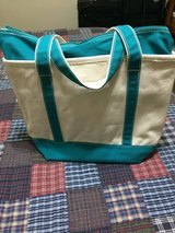 Lands End large zipper tote in Okinawa, Japan