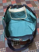 Thirty One soft utility tote & clear pocket a tote in Okinawa, Japan