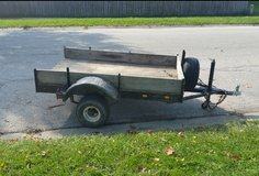 4x6 trailer with title in Lockport, Illinois