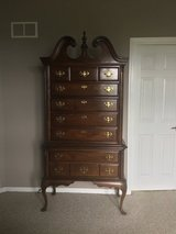 Solid Cherry Highboy in Naperville, Illinois