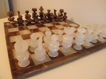 Onyx Chess Set in Lockport, Illinois