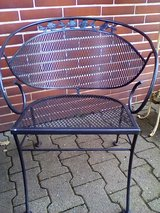 Patio set iron outdoor in Ramstein, Germany